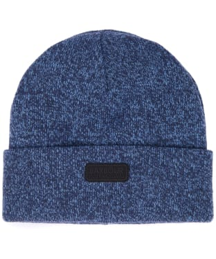 Men's Barbour International Twisted Sensor Beanie Hat - Charcoal / Grey