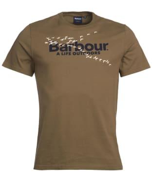 Men's Barbour Outdoor Tee - Mid Olive
