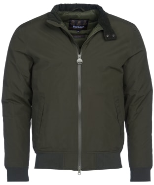 Men's Barbour International Steve McQueen Arlington Waterproof Jacket - Sage