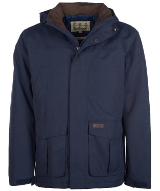 Men's Barbour Brockstone Waterproof Jacket - Navy