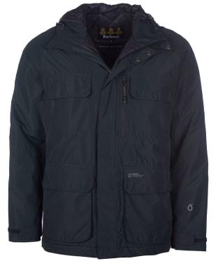 Men's Barbour Deptford Waterproof Jacket - Black