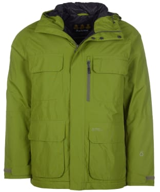 Men's Barbour Deptford Waterproof Jacket - Bulrush