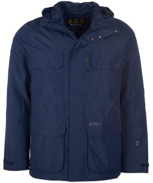 Men's Barbour Deptford Waterproof Jacket - Navy