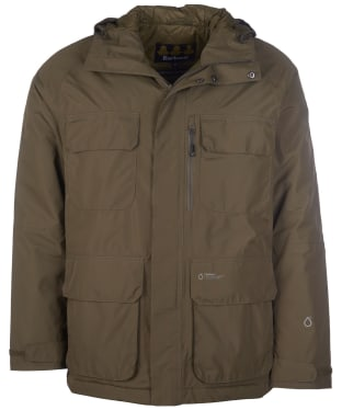 Men's Barbour Deptford Waterproof Jacket - Army Green