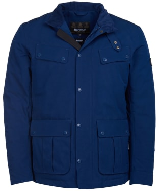 Men's Barbour International Waterproof Duke Jacket - Regal Blue