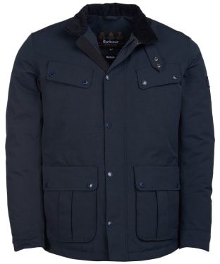 Men's Barbour International Waterproof Duke Jacket - Navy
