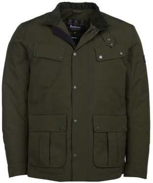 Men's Barbour International Waterproof Duke Jacket - Sage