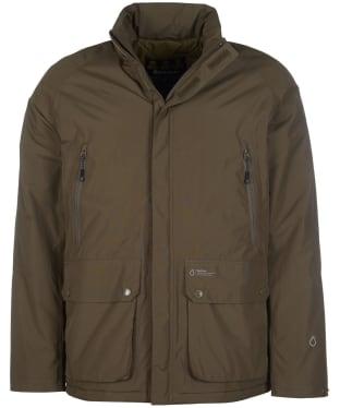 Men's Barbour Benson Waterproof Jacket - Army Green