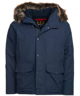 Men's Barbour Gremble Waterproof Jacket - Navy