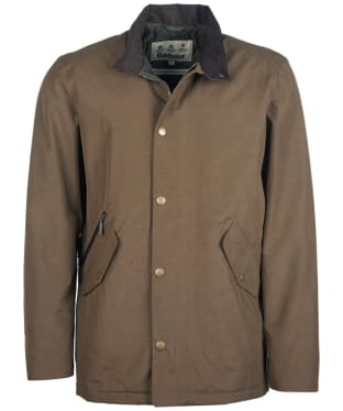 Men's Barbour Chester Waterproof Jacket - Dark Sand