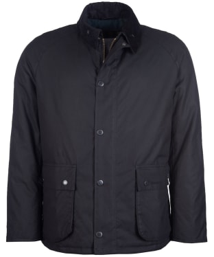 Men's Barbour Strathyre Waxed Jacket - New Black