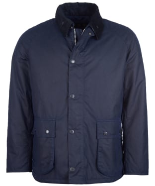 Men's Barbour Strathyre Waxed Jacket - New Royal Navy