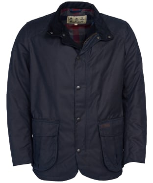 Men's Barbour Gilpin Waxed Jacket - Navy
