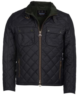 Men's Barbour International Peel Waxed Jacket - Sage