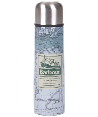 Barbour Archive Map Insulated Flask - Green