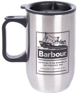 Barbour Stainless Steel Travel Mug - Stainless Steel