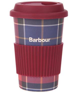 Barbour Tartan Travel Mug - Red/Navy Tartan