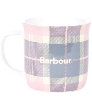 Barbour Tartan Mug - Pink / Grey Tartan