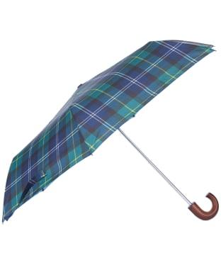 Barbour Tartan Mini Umbrella - Seawood Tartan