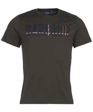 Men's Barbour Wallace Tee - Forest