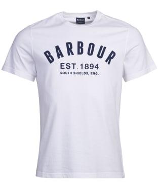 Men's Barbour Ridge Logo Tee - White