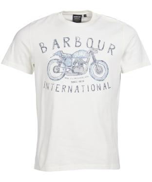 Men's Barbour International Duke Tee - Whisper White