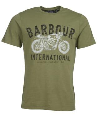 Men's Barbour International Speed Tee - Burnt Olive