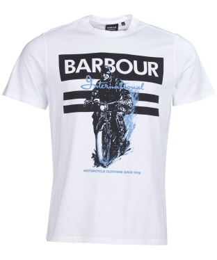 Men's Barbour International Heritage Tee - White