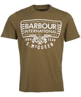 Men's Barbour International Steve McQueen Eagle Tee