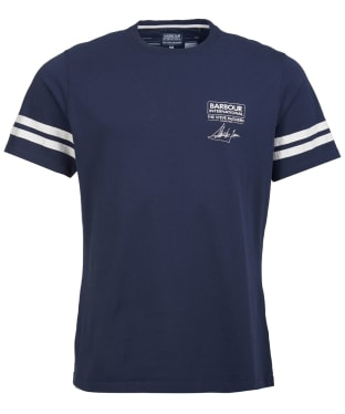 Men's Barbour International Steve McQueen Double Stripe Tee