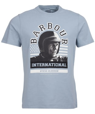 Men's Barbour International Steve McQueen Jake Graphic Tee - Flint