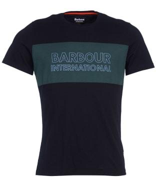 Men's Barbour International Panel Logo Tee