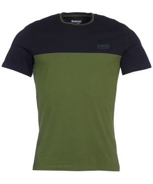 Men's Barbour International Blocker Tee - Strong Olive