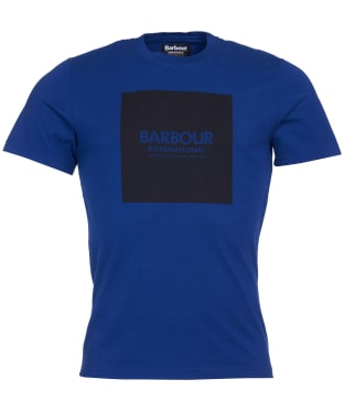 Men's Barbour International Block Tee - Strong Blue