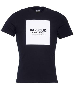 Men's Barbour International Block Tee - New Black