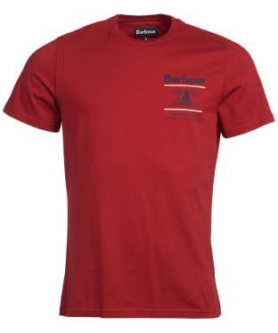 Men's Barbour Reed Tee - Lobster Red