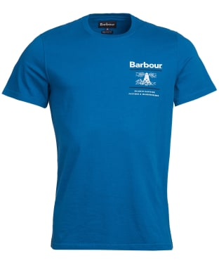 Men's Barbour Reed Tee - Aqua