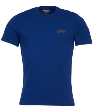 Men's Barbour International Small Logo Tee - Strong Blue