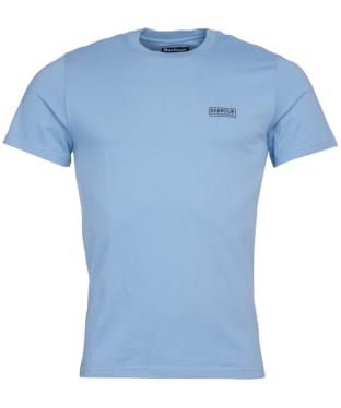 Men's Barbour International Small Logo Tee - Powder Blue