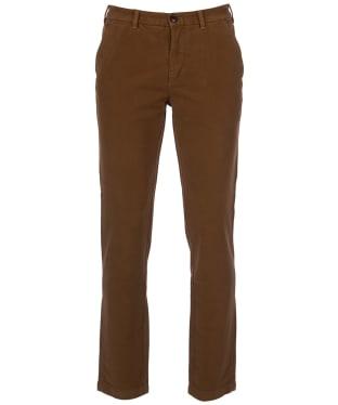 Men's Barbour Neuston Moleskin Trousers - Sandstone