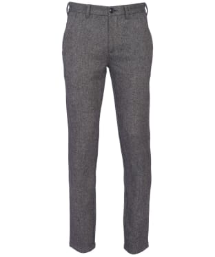 Men's Barbour Neuston Wool Trousers - Charcoal