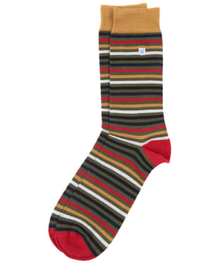 Men's Barbour Tartan Stripe Socks - Classic Tartan