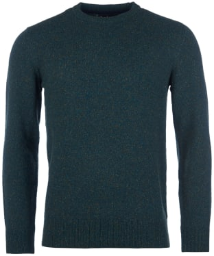 Men's Barbour Tisbury Crew Neck Sweater - Dark Aqua