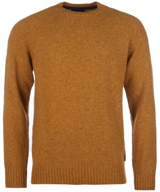 Men's Barbour Netherton Crew Sweater - Copper