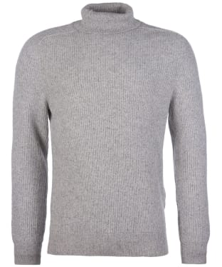 Men's Barbour Roll Neck Sweater - Ecru Mix