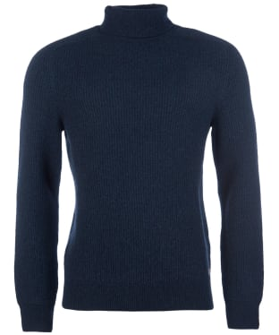 Men's Barbour Roll Neck Sweater - Seaweed Mix