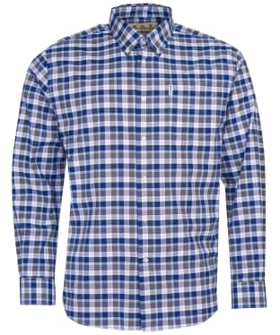 Men's Barbour Country Check 15 Regular Shirt - Olive Check