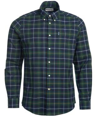 Men's Barbour Tartan 6 Tailored Shirt - Seawood Tartan
