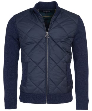 Men's Barbour Magnus Zip Through Knit - Navy