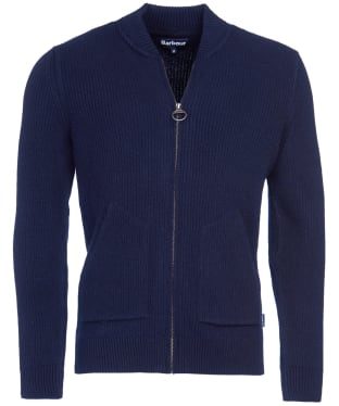 Men's Barbour Gillespie Zip Thru Knit - Navy